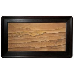 Dunes Galore Extraordinary Natural Stone Painting, One-of-a- Kind