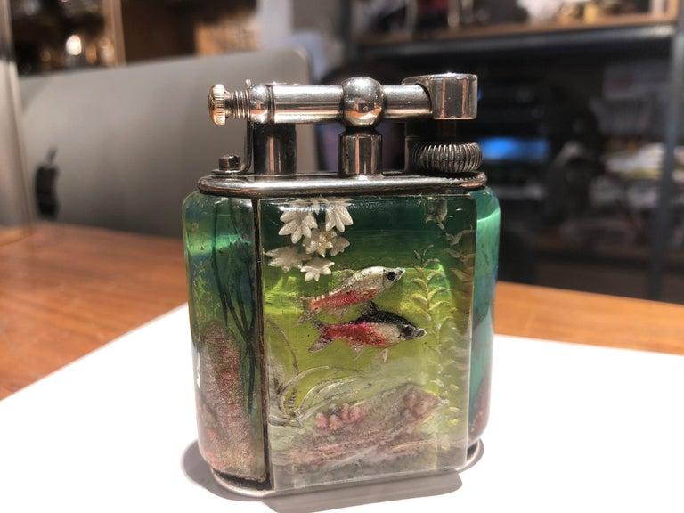 Dunhill Aquarium Lighter  For Sale 2