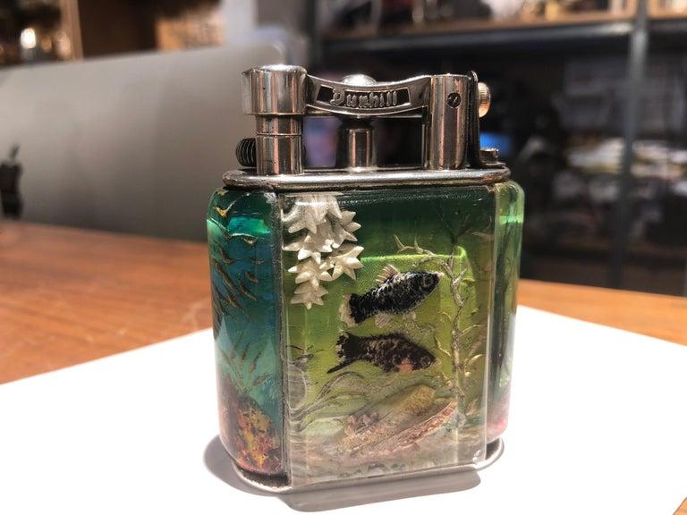 Dunhill Aquarium Lighter  For Sale 3