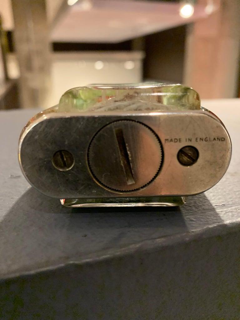 Carved Dunhill Aquarium Lighter  For Sale