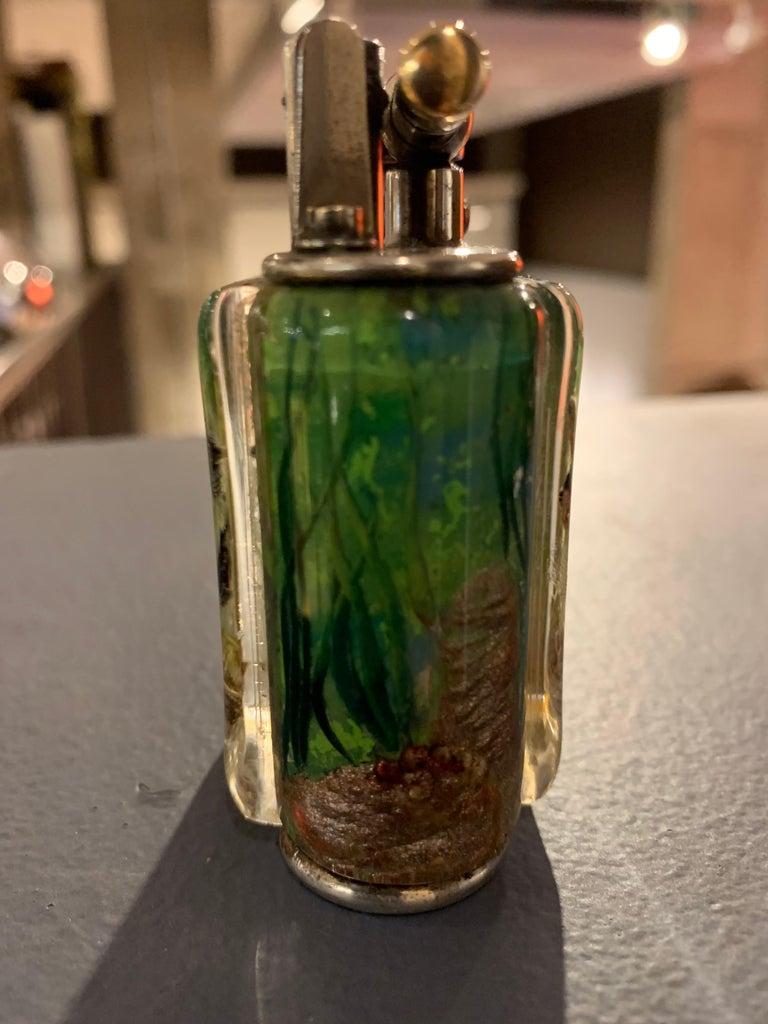 Mid-20th Century Dunhill Aquarium Lighter  For Sale