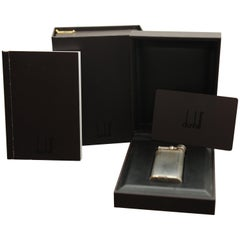 Dunhill Unique Silver Plated Gas Lighter with Original Gift Box, Papers & Flints