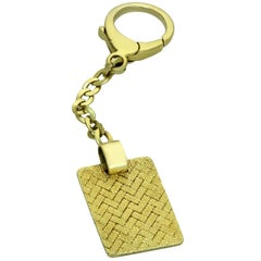 Dunhill Yellow Gold Keychain