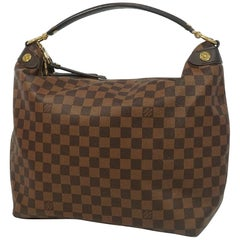 Duomo Hobo  Womens  shoulder bag N41861  Damier ebene Leather