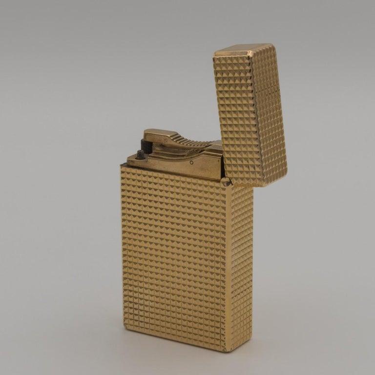 Dupont Gold-Plated Pocket Lighter, circa 1975 For Sale 5