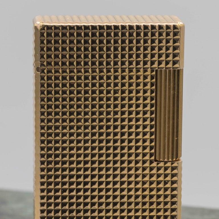 Dupont Gold-Plated Pocket Lighter, circa 1975 For Sale 8