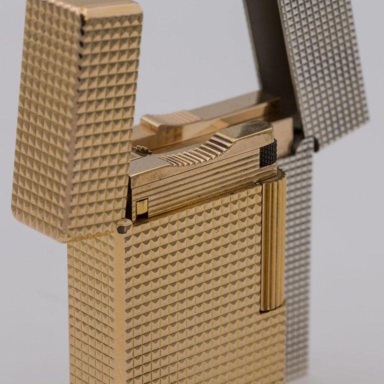Dupont Gold-Plated Pocket Lighter, circa 1975 For Sale 13