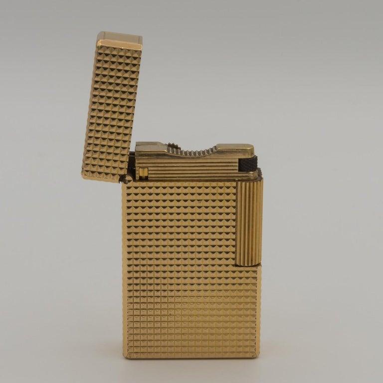 Dupont Gold-Plated Pocket Lighter, circa 1975 For Sale 3