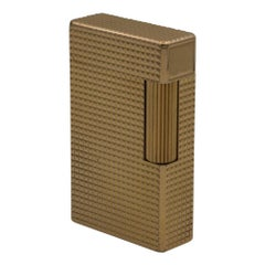 Dupont Gold-Plated Pocket Lighter, circa 1975