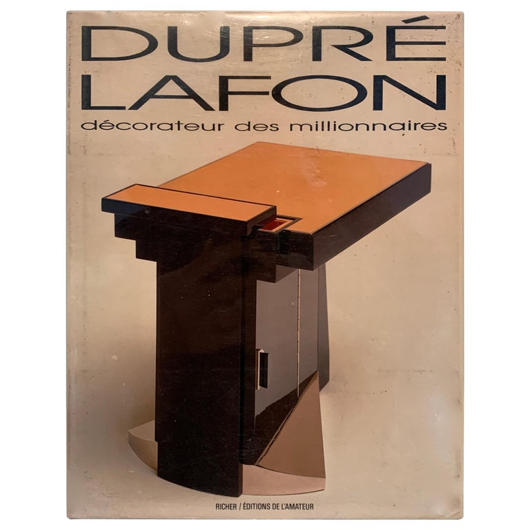 <i>Dupré-Lafon: Décorateur des Millionaires</i>, 1990, offered by Darren Ransdell Design