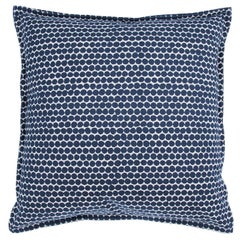 Dusk Beads on Cotton Canvas Pillow