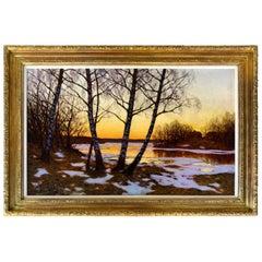 """""""Dusk on the Lake"""" by Edvard Rosenberg"""