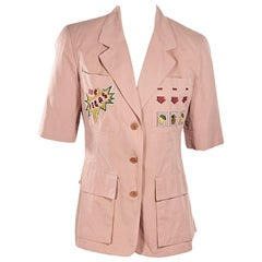 Dusty Rose Vintage Iceberg Cotton Vegas Jacket