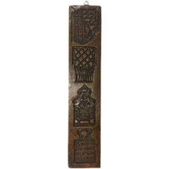 Dutch 18th Century Gingerbread Wooden Mould
