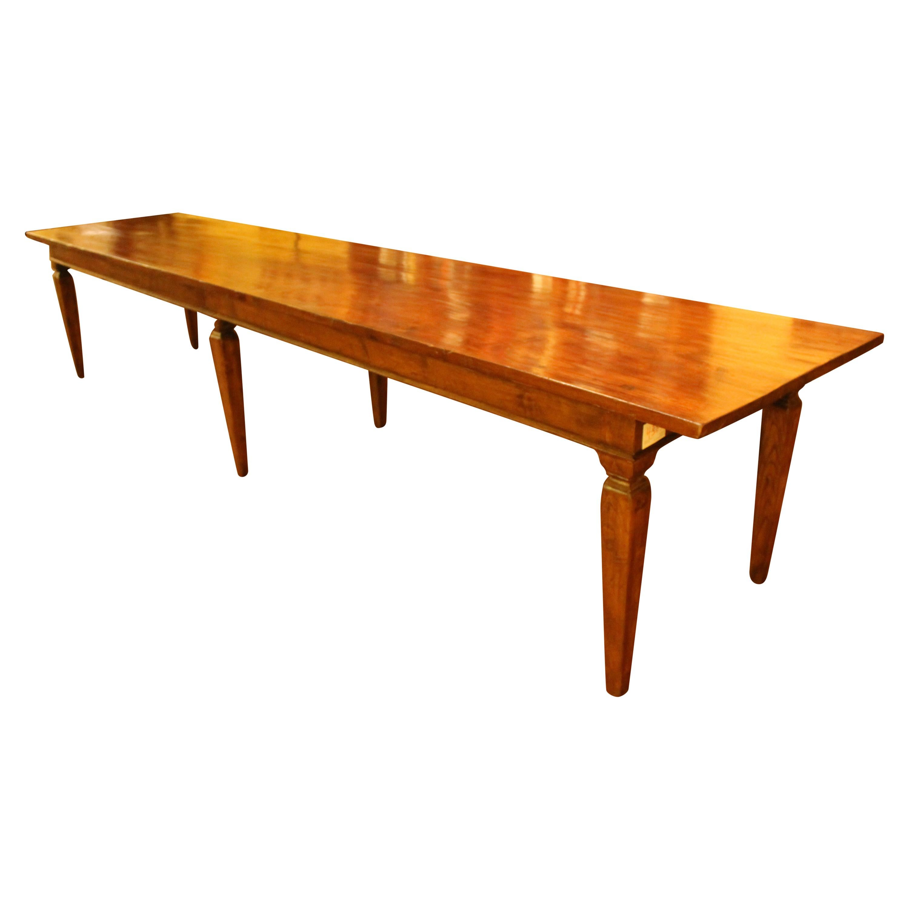 Dutch 19th Century Farm Table