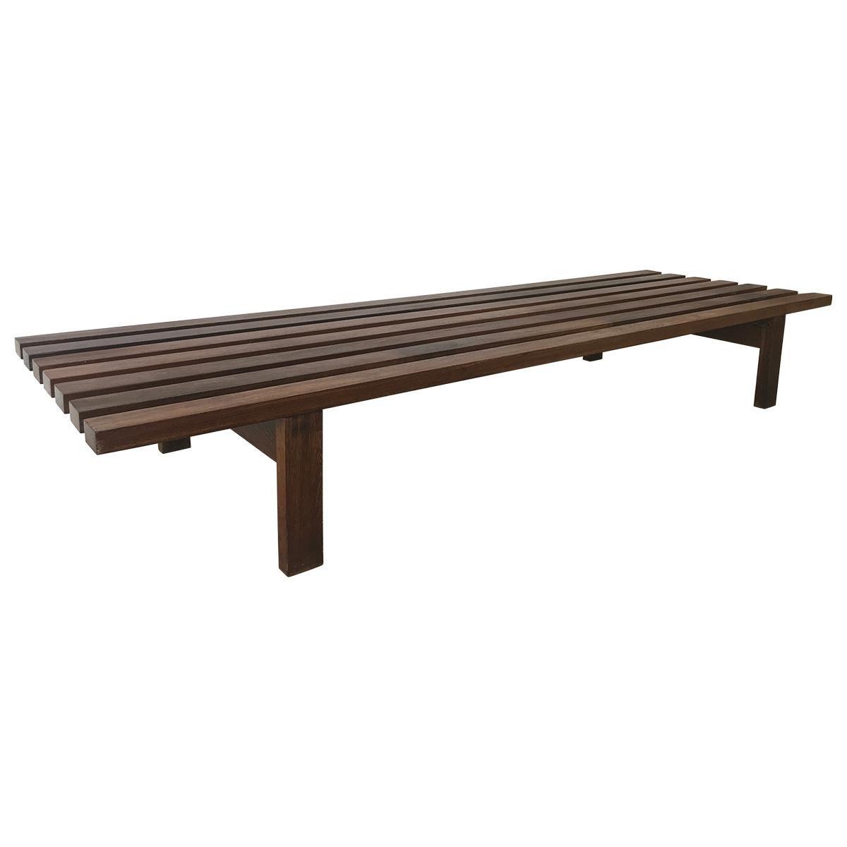BZ Slated Bench