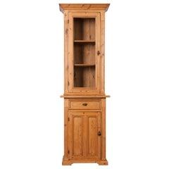 Dutch 19th Century Pine Cabinet or Bookcase