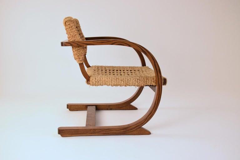 Dutch Art Deco Armchairs by Bas Van Pelt, 1930's  For Sale 3