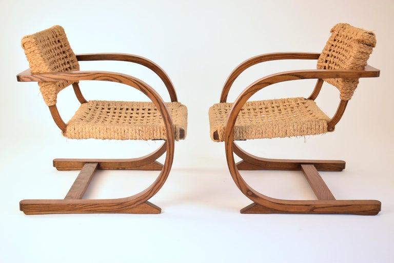 Dutch Art Deco Armchairs by Bas Van Pelt, 1930's  For Sale 6