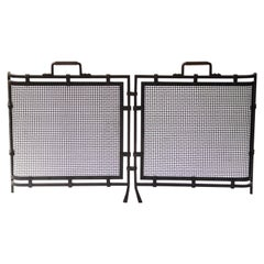 Dutch Art Deco Fireplace Screen
