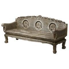 Dutch Art Nouveau Bench