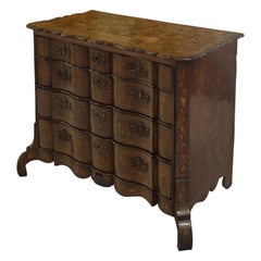 Dutch Bombe Chest of Drawers 18th Century