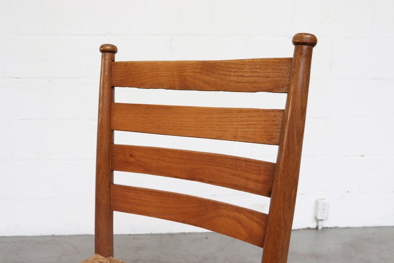Dutch Church Chairs from the Zuiderkerk in Enkhuizen For Sale 4