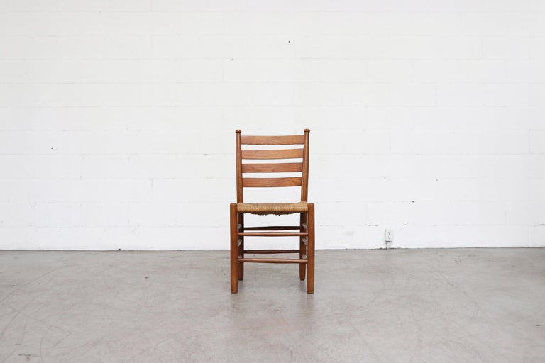 Dutch Church Chairs from the Zuiderkerk in Enkhuizen In Good Condition For Sale In Los Angeles, CA