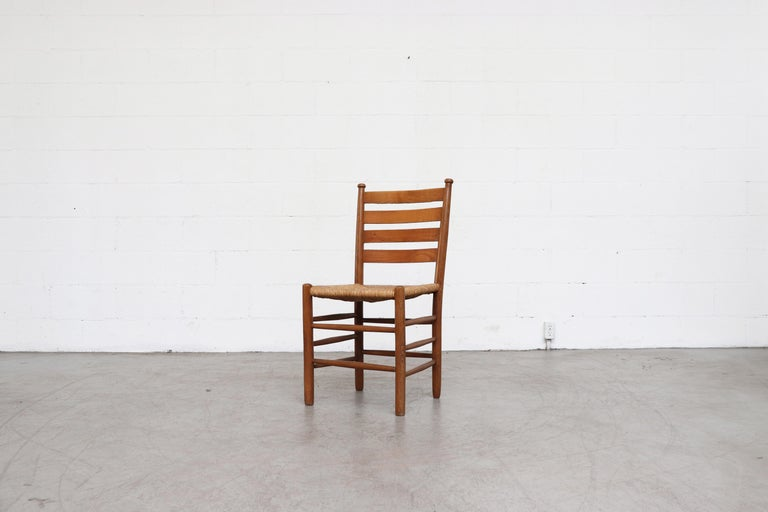 Mid-20th Century Dutch Church Chairs from the Zuiderkerk in Enkhuizen For Sale