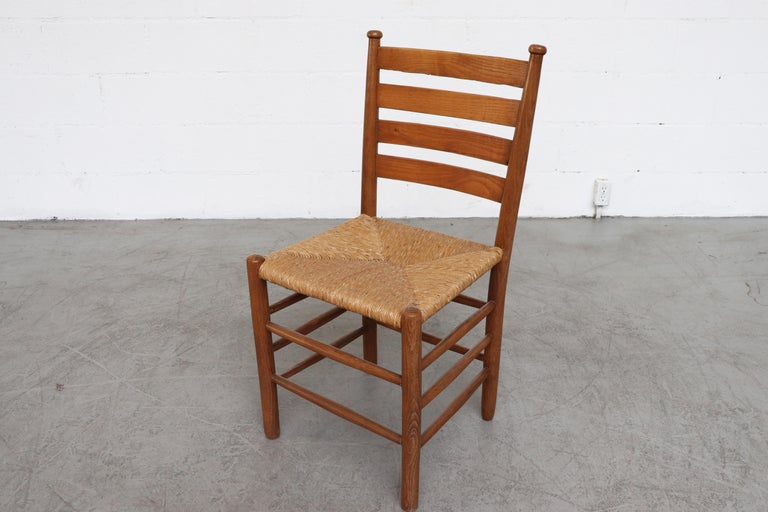 Dutch Church Chairs from the Zuiderkerk in Enkhuizen For Sale 3