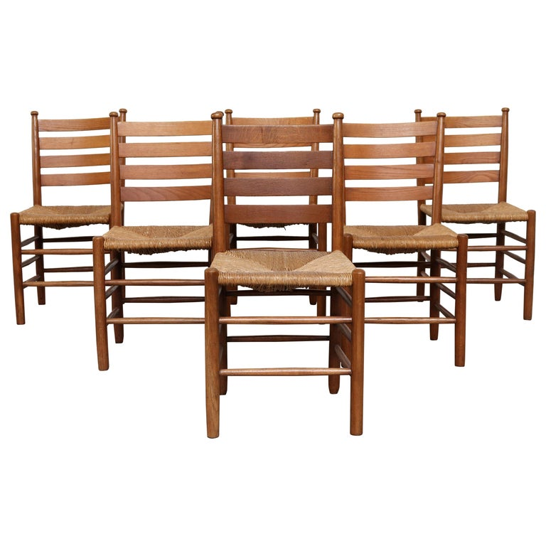 Dutch Church Chairs from the Zuiderkerk in Enkhuizen For Sale