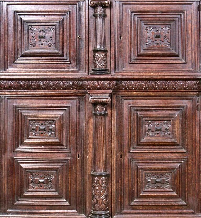 Renaissance Dutch Closet of the 17th Century For Sale