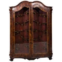 Dutch Collector's Cabinet, circa 1750s