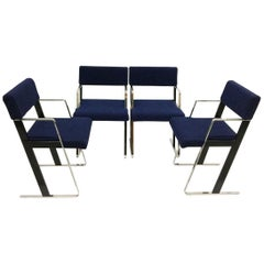 "Dutch ""DC"" Chairs by Dick Spierenburg for Castelijn, 1978"