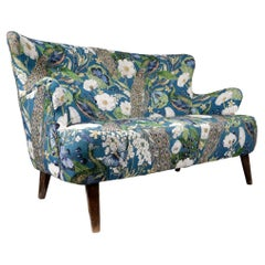 Dutch Design Artifort, Theo Ruth Loveseat Mid-Century Modern Sofa