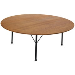 Dutch Design Round Teak Coffee Table by Cees Braakman for Pastoe, 1960s