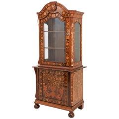 Dutch Display Cabinet, 19th Century