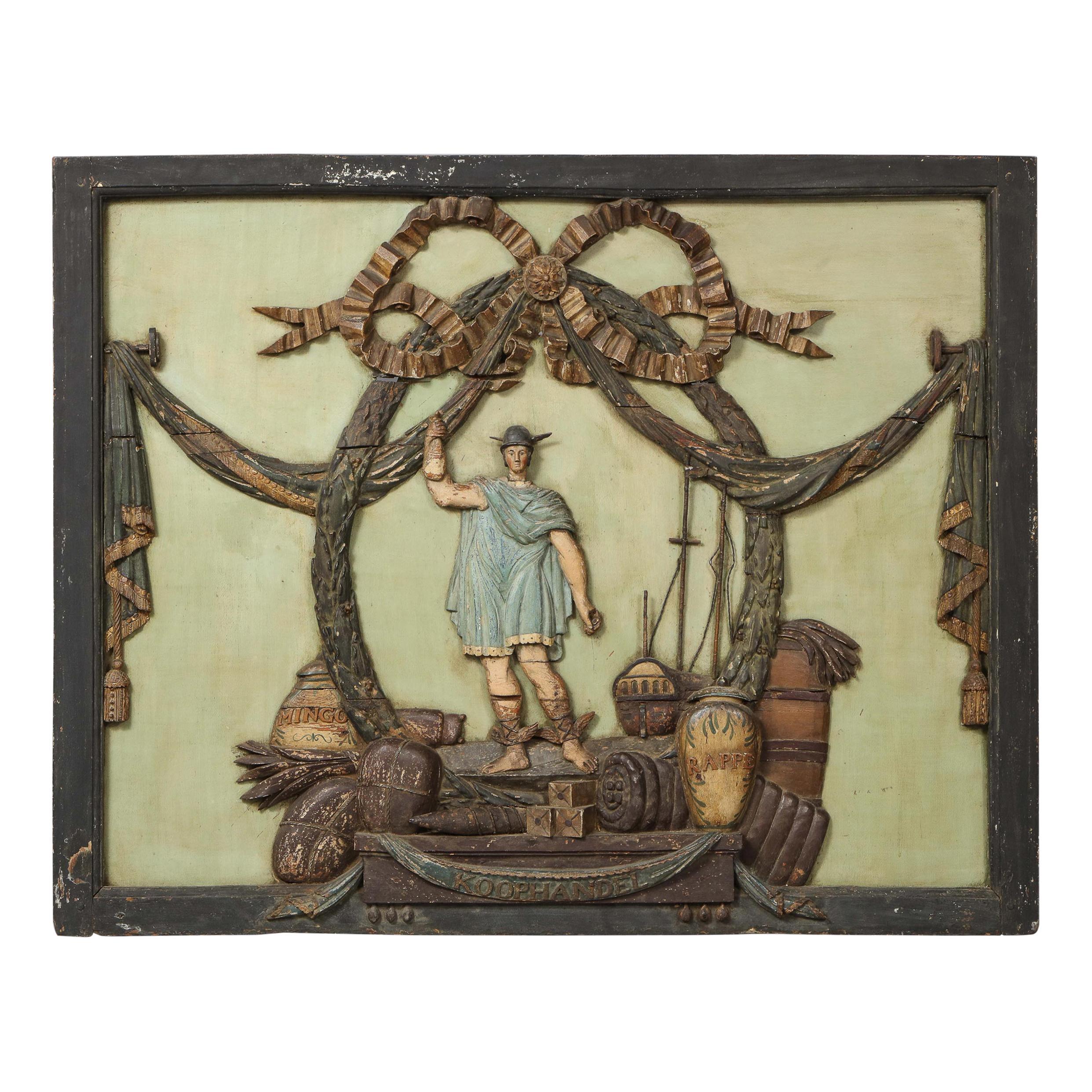 Dutch Folk Art Trade Sign