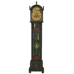 Dutch Hand-Painted Clock, circa 1900