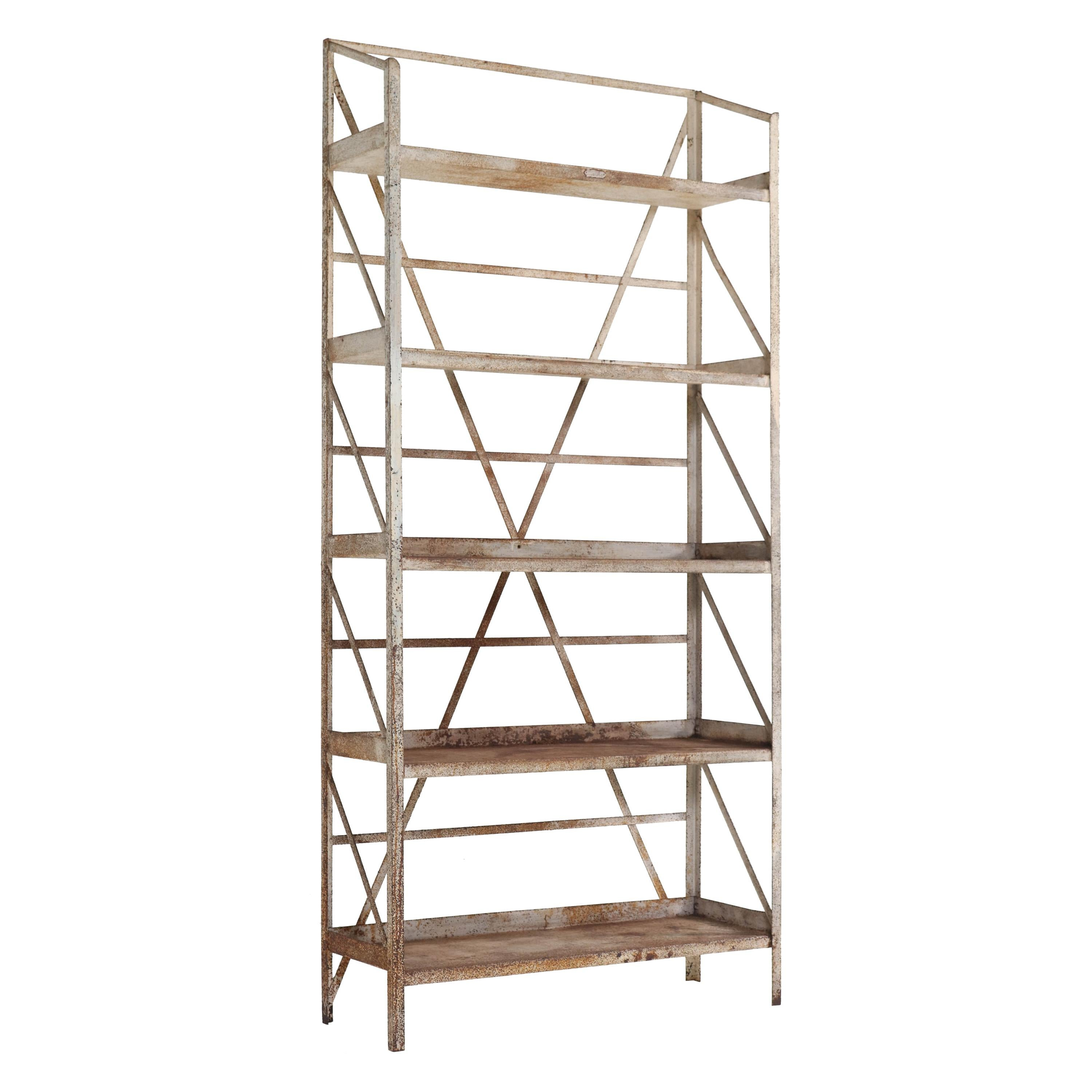Small Art Deco Red Shelving Unit Sweden 1930s At 1stdibs