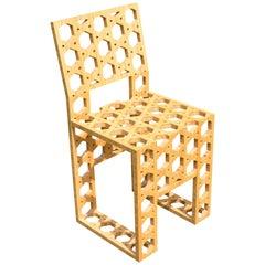 Dutch Lotte Van Laatum Kaguya-Hime Bamboo Side Chair, 2007