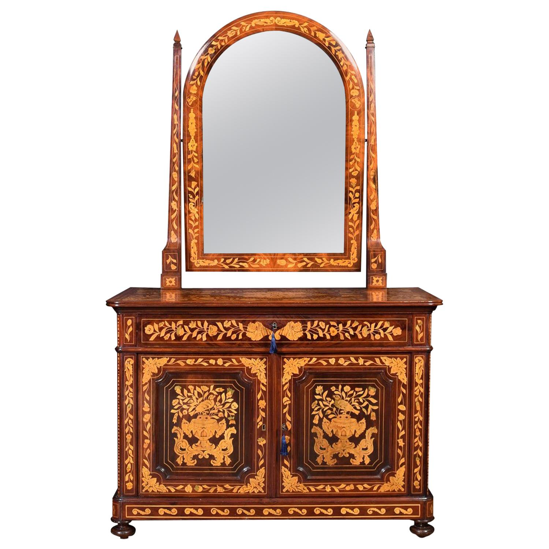 Dutch Mahogany Dressing Table