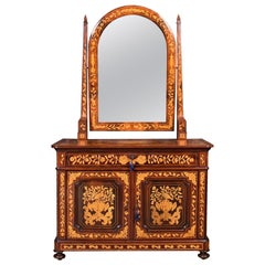 Dutch Mahogany Dressing Table