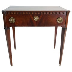 Dutch Mahogany Side Table, circa 1810