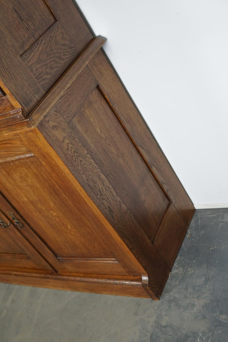 Dutch Oak Apothecary or Filing Cabinet, 1930s For Sale 5