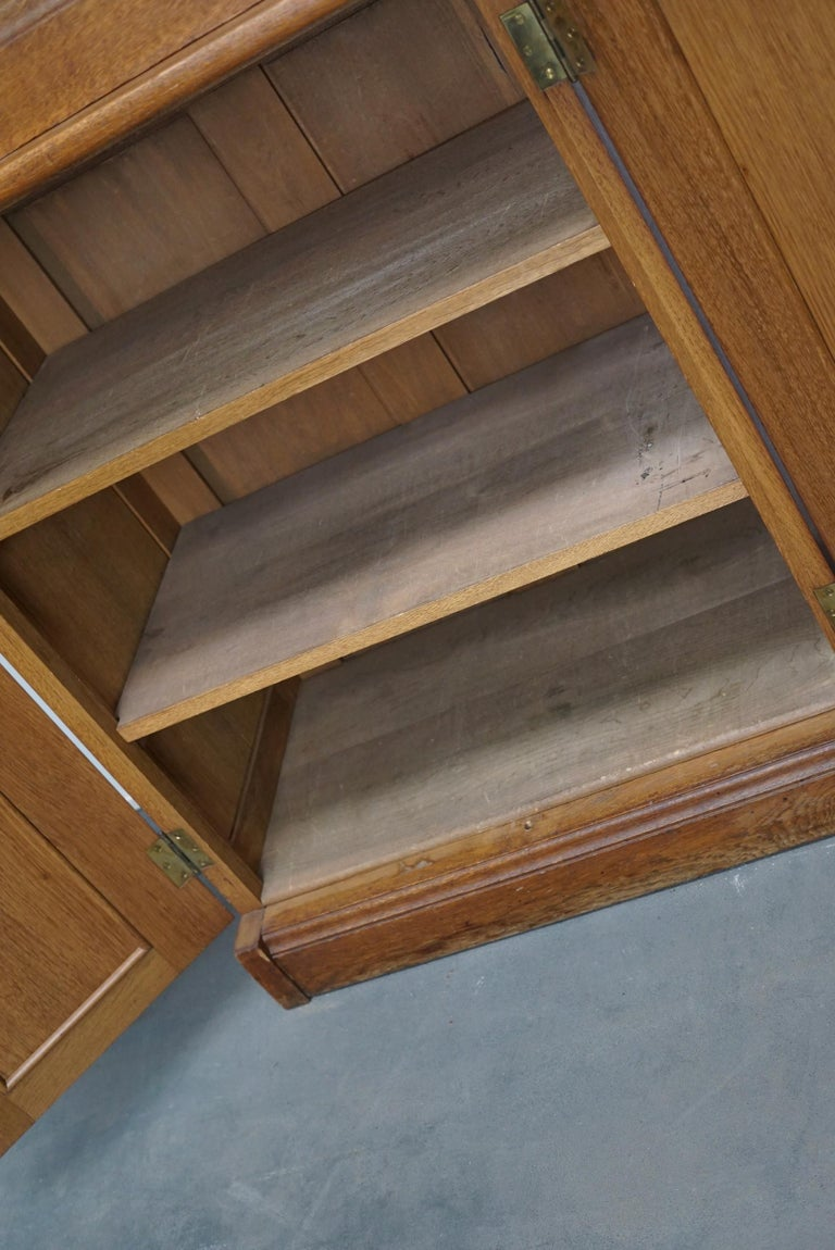 Dutch Oak Apothecary or Filing Cabinet, 1930s For Sale 1