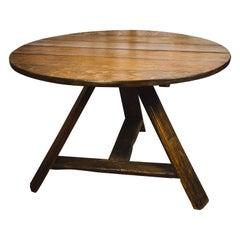 Dutch Oak Tilt-Top Table