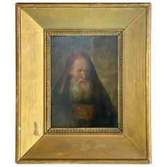 Dutch Old Master Ferdinand Bol 17th Century Signed Painting Oil on Wood ca. 1642