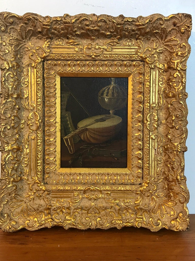 Baroque Dutch Old Master Still Life Signed J. van Hoot For Sale
