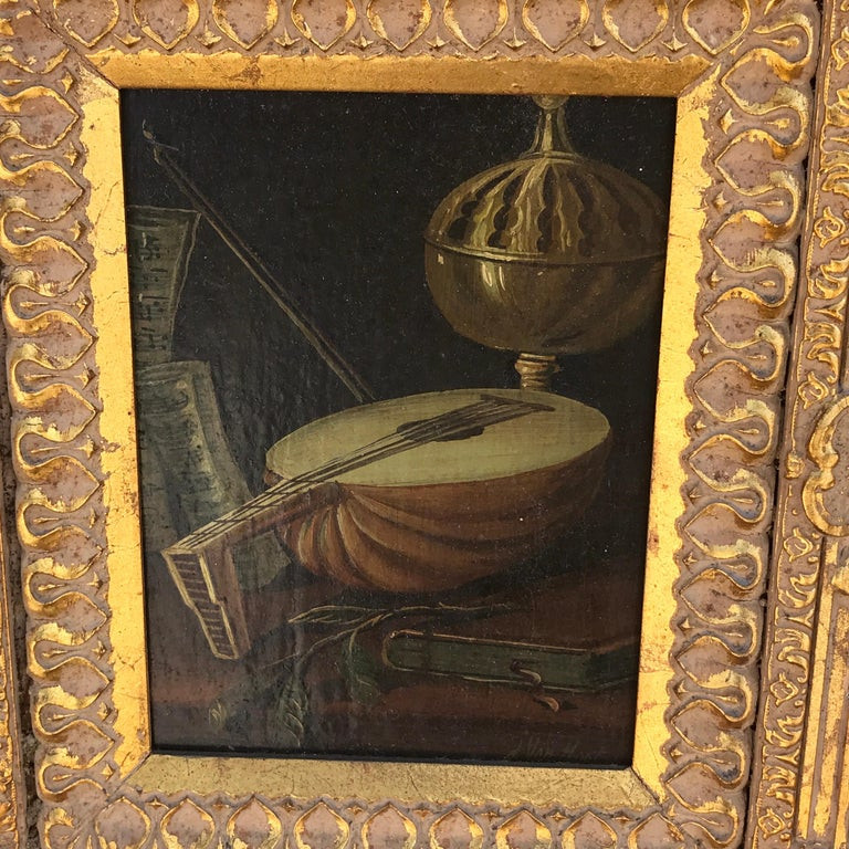 19th Century Dutch Old Master Still Life Signed J. van Hoot For Sale